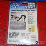 Bicycle Chain Cleaner Packaging Back
