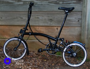 Brompton Bicycle Unfolded