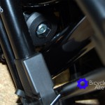 Rear Triangle Frame Lower Stop And Seat Post