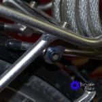 Bolt Installed In Rack